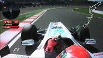 Formula1 2010 Schumacher Onboard Lap   Japan Suzuka HQ
