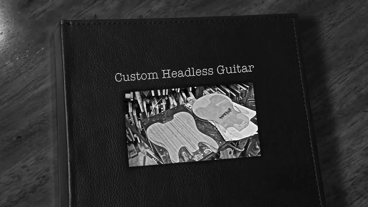 The Making of Custom Headless Guitar