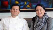 Cesar and his Family - Meet this awesome couple - Cesar's Bistro - Eat LBC