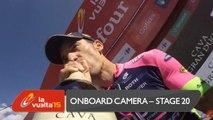 Onboard camera / Cámara a bordo - Stage 20 (San Lorenzo de El Escorial / Cercedilla) - La Vuelta a España 2015