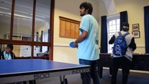 "Kenya vs India - Tabletennis match at ""CommonRoom Stadium"""