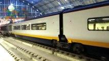 New Eurostar Livery departing at St Pancras International
