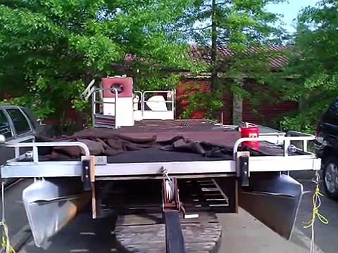 boat boat pontoon boat