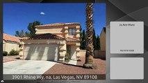 3901 Rhine Wy, na, Las Vegas, NV 89108