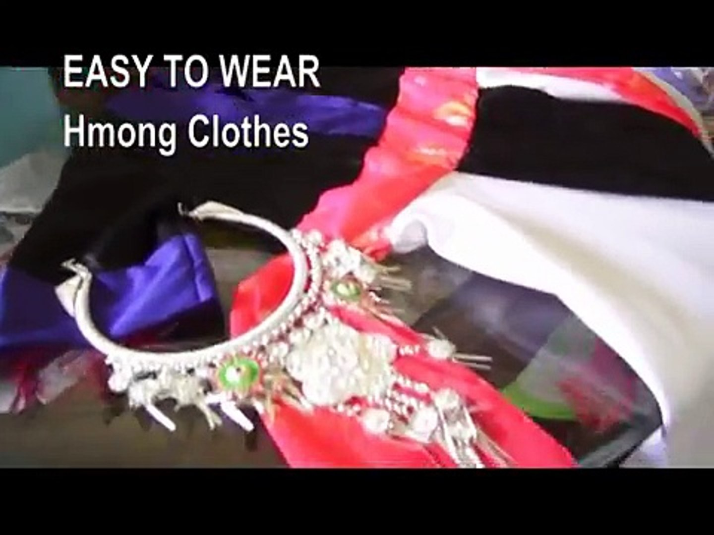 Easiest Hmong Clothes ever!!!