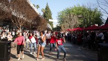 Flash Mob Birthday Party at Azusa Pacific University