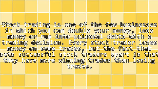 5 Rules for Profitable Stock Trading