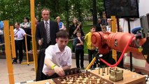 ROBOT Vs HUMAN Exciting Chess | Chess games computer | chess games computer
