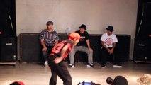 Momoka vs Misa. Ilock Session Battle Semi-finals. Japanese funk dancing.