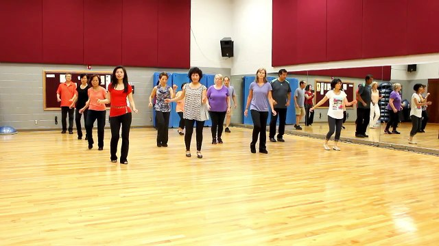 Give Me One Kiss - Line Dance (Dance & Teach in English & 中文)
