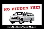 NO HIDDEN FEES - Van/ Car Rental - Metro Detroit Airport - Michigan