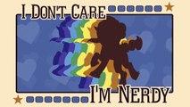 I'M NERDY! [Typography]