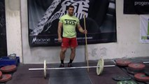 Dmitry Klokov - Training exercise for Snatch @ Butcher's Garage 10-04-2014