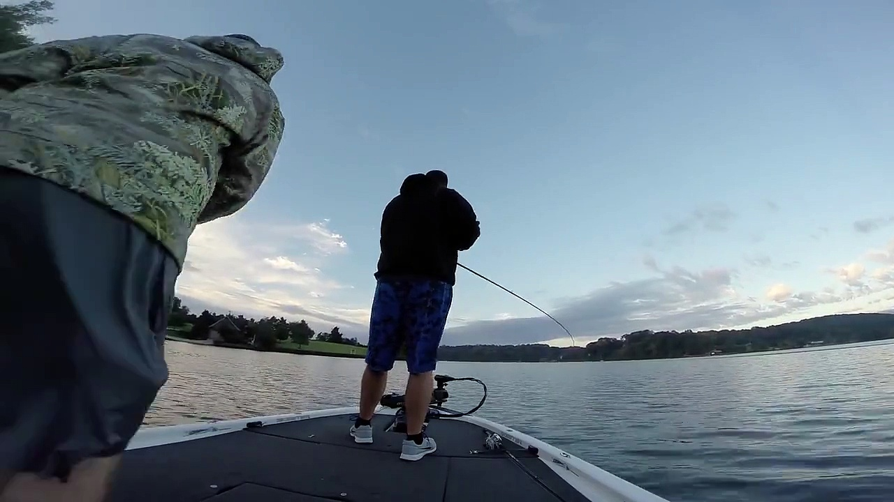 Doubling Up-Fall Bass Fishing