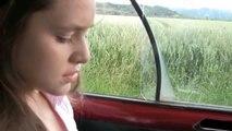 Babysitter Girl Cranking - Renault 4 Pedal Pumping