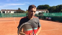 Vidéo USDEM Tennis : Le coup droit de Nadal, et conseil d'un ancien de Roland Garros