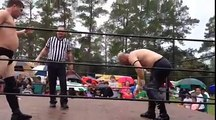Amateur Wrestling in the Rain