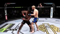 Straight Knockouts and Takedowns EA Sports UFC