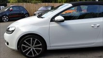 Golf GT TDi Cabriolet For Sale at George Kingsley Vehicle Sales, Colchester, Essex