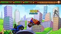 Spiderman Game Spidy Racer - FULL Levels Completed - Spiderman Race | Racing Games for Kids