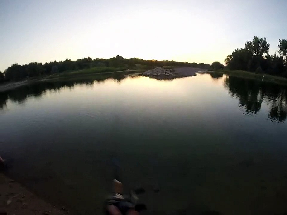 Summer bass fishing