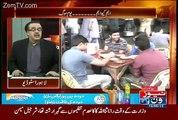 Shahid Masood is Making Fun of Altaf Hussain Drama Bazi