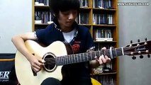 Michael Jackson) Don't stop 'til You Get Enough   Sungha Jung Acoustic Tabs Guitar Pro 6