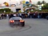 BMW M5 E39 & Corvette & 2 Mustangs GT Drifting in Egypt Auto Cross Round 3 2009