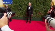 Nina Dobrev looks chic in black at Creative Arts Emmy Awards