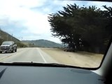Driving along California coast, Big Sur 2004