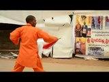 Kungfu Training AP Martial arts Broad Sword Indian Wushu Nellore Kick Boxing