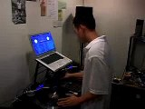 SLEEPER Freestyle Mixing on the Turntables