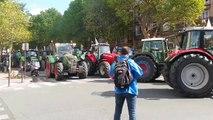 FRANCE Manifestation des agriculteurs à Paris le 3 septembre 2015