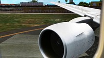 FSX 777-200 Takeoff HNL - video dailymotion