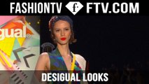 Desigual Spring/Summer 2016 Looks @ New York Fashion Week | FTV.com