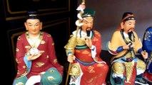 Hong Kong Taoist Warrior Dieties Statues 沙田車公廟諸位神仙雕像