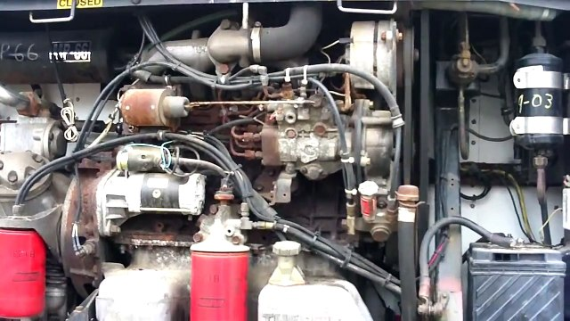 Thermo King / Isuzu D201 Diesel Cold start after 3 years sitting.