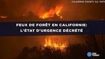 Feux de forêt en Californie: L'état d'urgence décrété