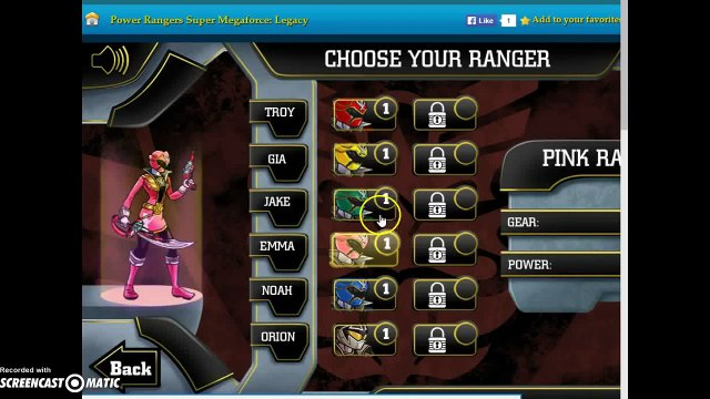 lets play power rangers