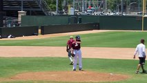 Noah Rosol 2015 Pitching  TX State Baseball High School Camp