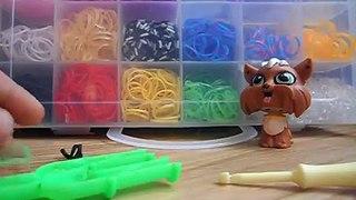 плетём из резинок Rainbow Loom Bands урок  5  браслет