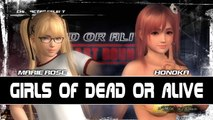 Dead or Alive 5 Last Round - Versus 6 - Marie-Rose vs Honoka