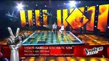 #TeamWafande: Isabella & Wafande synger 'Se Mig Idag' - Voice Junior Danmark - Finalen - Sæson 2