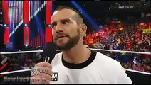 (ITA) CM Punk e la Pipe Bomb contro The Rock - WWE RAW 07/01/2013