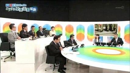 山本太郎議員「強行採決は有権者への裏切り行為、その瞬間を生中継しないのなら、公共放送の資格はない」。慌てて止める島田鮨男