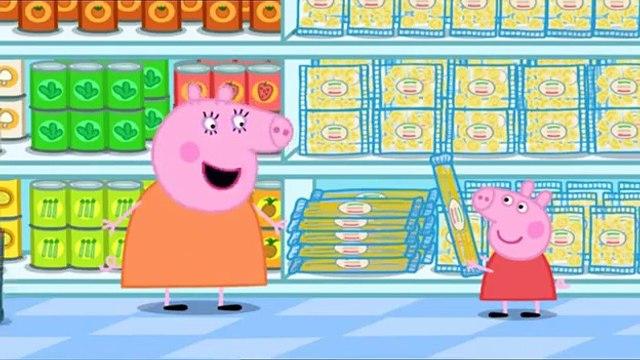 Peppa Pig HD  Series1 -41-Shopping