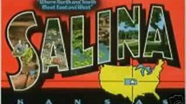 Salina Kansas  most famous landmarks