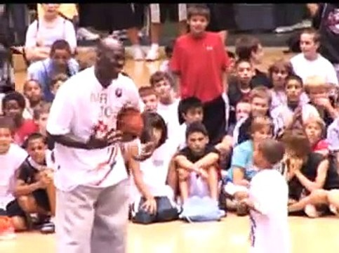 Michael Jordan Basketball Camp '07