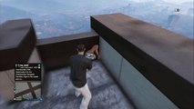 GTA 5 Online Funny Moments - Falling Glitch, Crazy Jumps, Helicopter explosion
