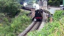 Llangollen Railway - 'Along Western Lines' Steam Gala 2014 - Berwyn Station